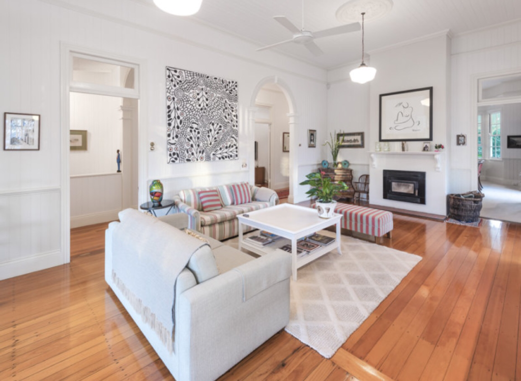Ascot Queenslander living