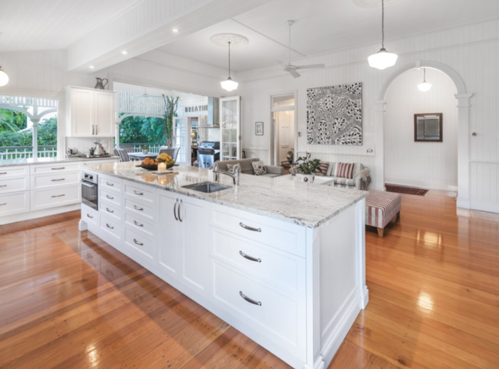 Ascot Queenslander kitchen