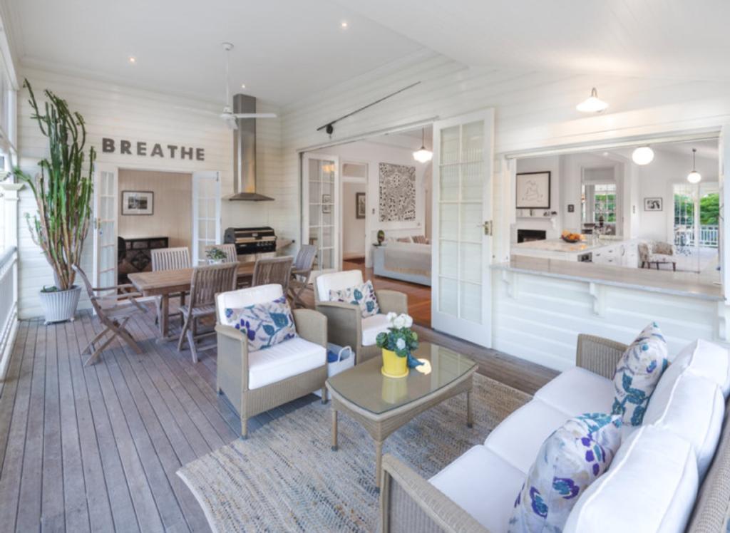 Ascot Queenslander verandah