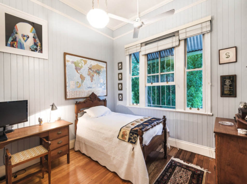 Ascot Queenslander bedroom