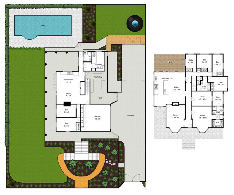 Ascot Queenslander floor plan