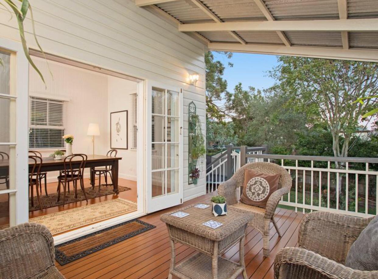 Grange Queenslander verandah