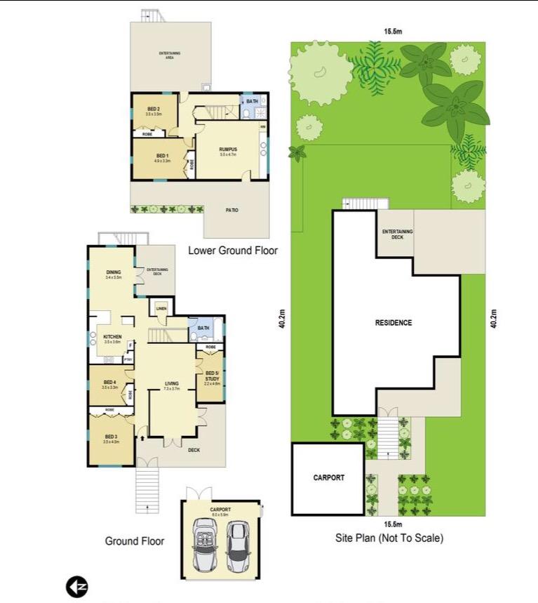 Grange Queenslander floor plan