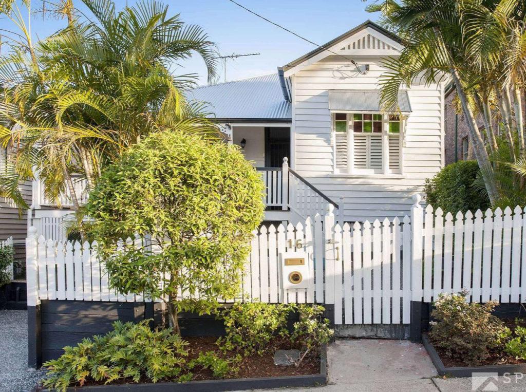 Paddington Split Level Queenslander exterior