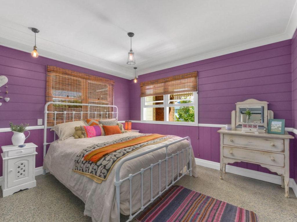 Character Ashgrove Queenslander bedroom
