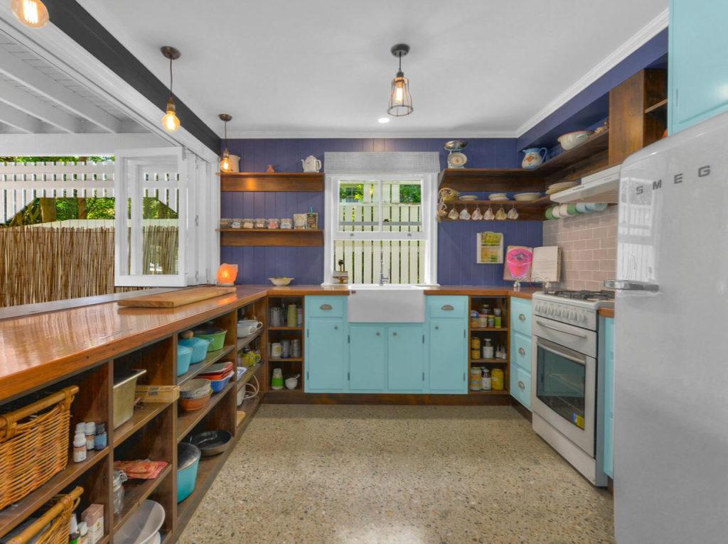 Character Ashgrove Queenslander kitchen