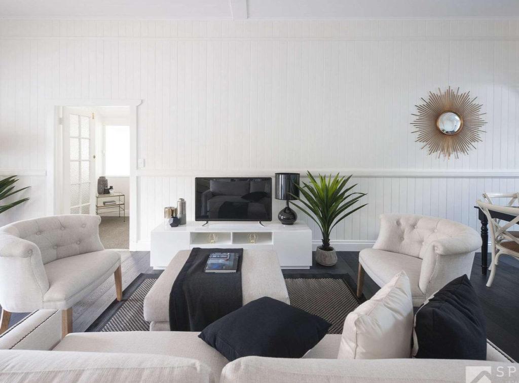 Paddington Split Level Queenslander living