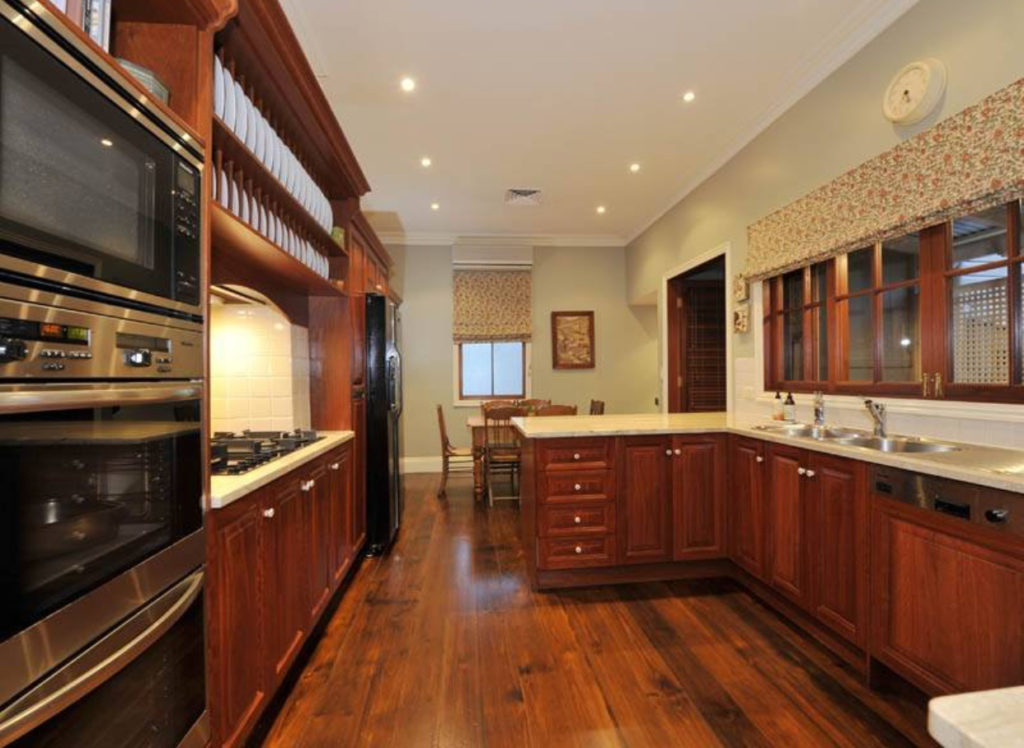 Bulimba Porch and Gable Queenslander kitchen