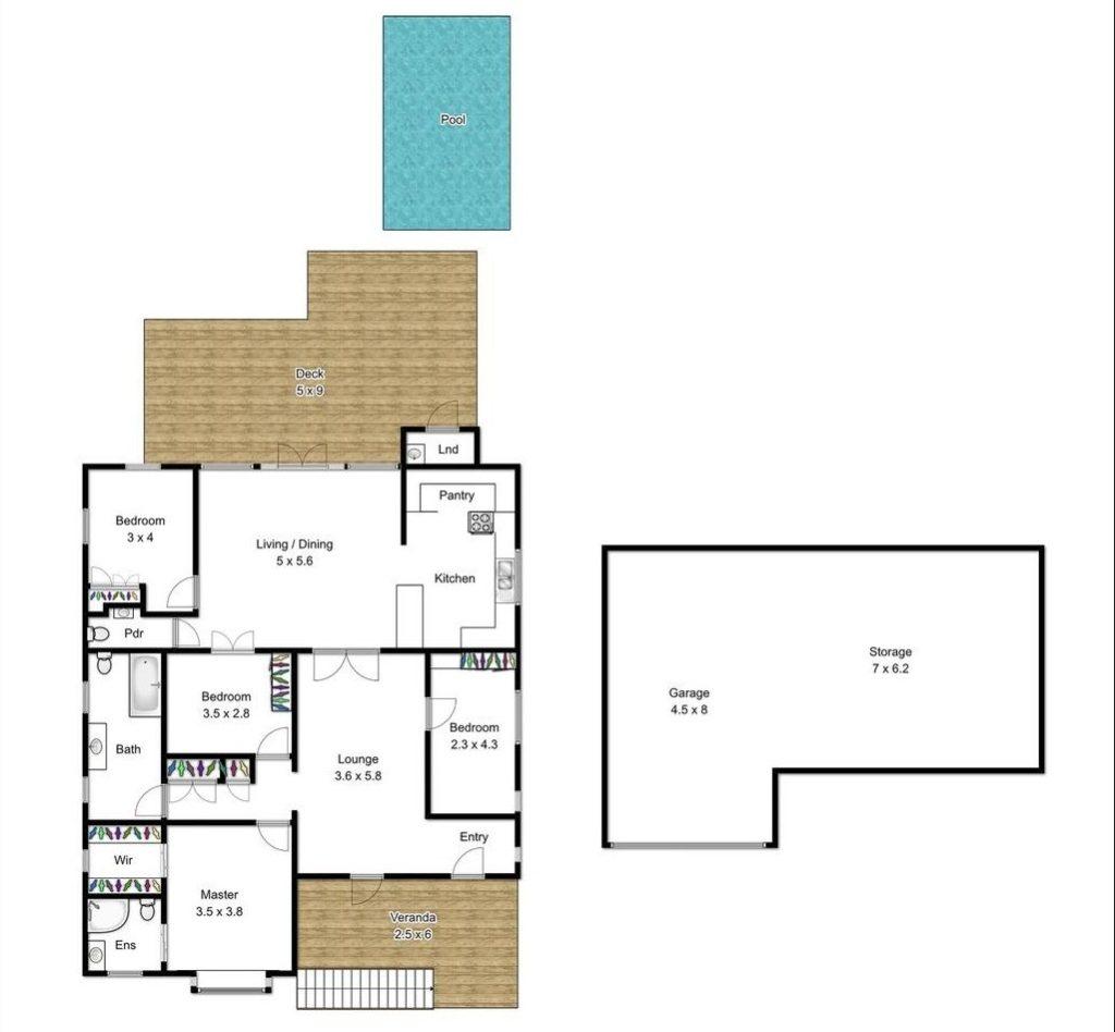 The Ashgrovian House Next Door floor plan