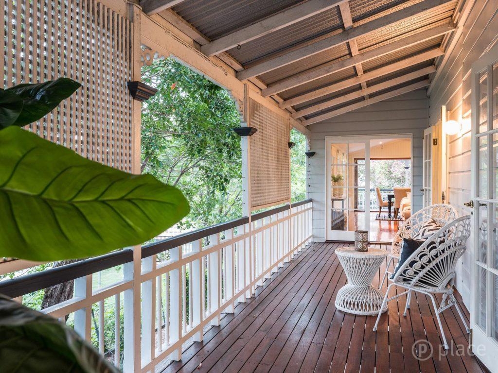 Hawthorne Queenslander verandah