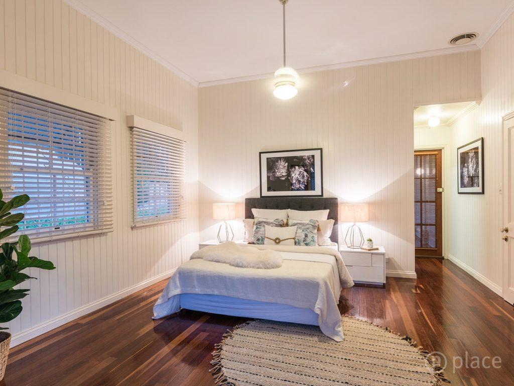 Hawthorne Queenslander bedroom