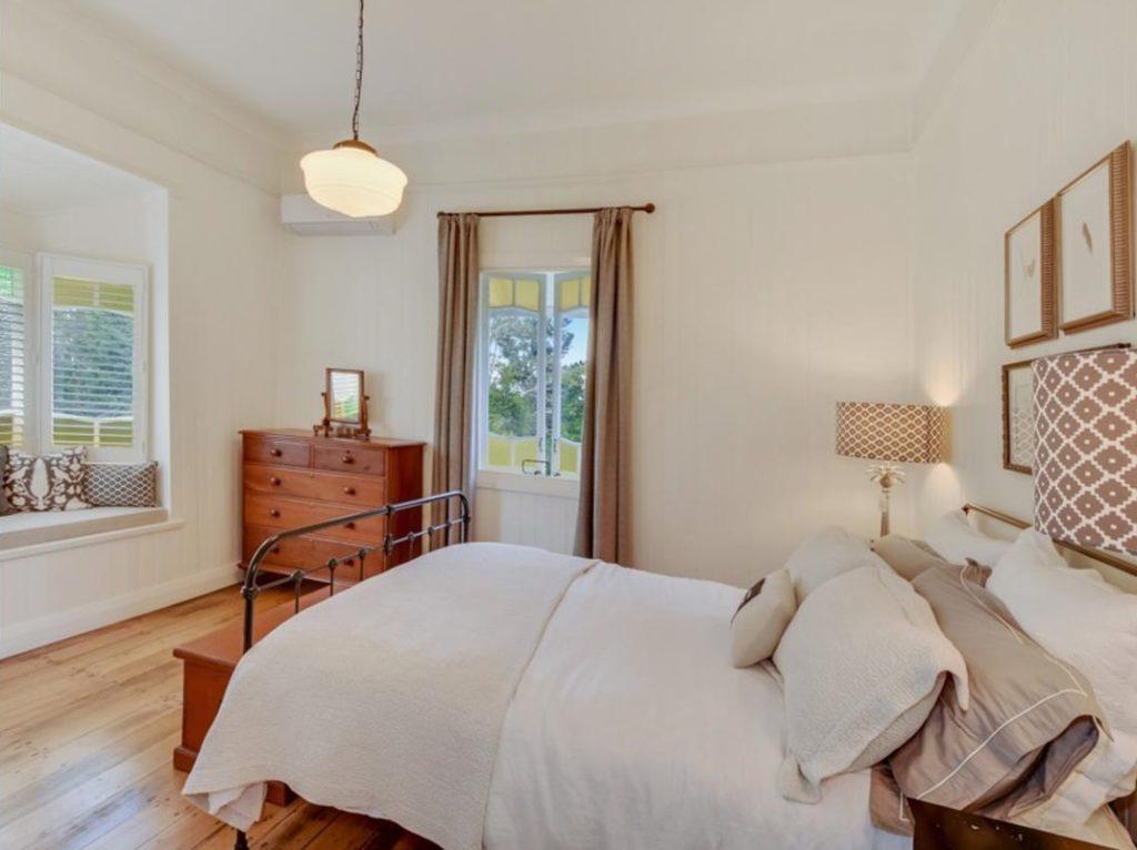 My Dream Queenslander in Maleny bedroom