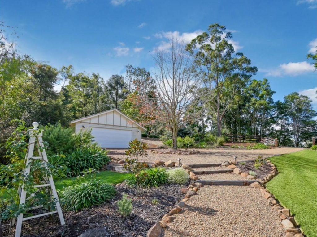My Dream Queenslander in Maleny garden