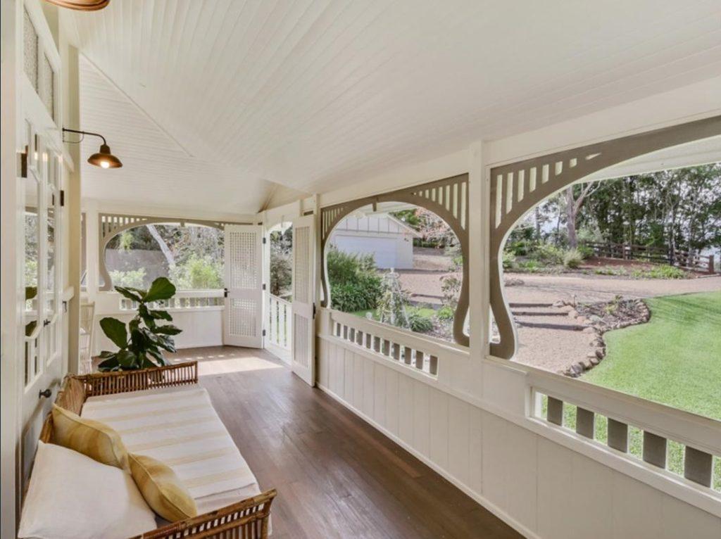 My Dream Queenslander in Maleny verandah