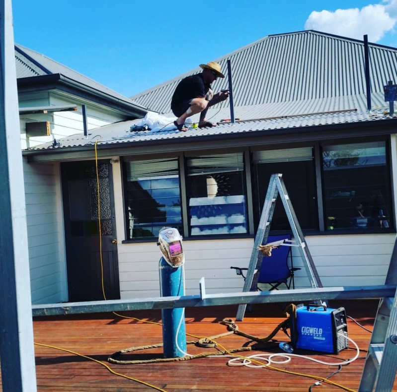 Ipswich porch and gable Queenslander renovation