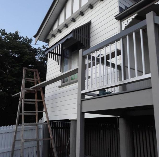 Ipswich porch and gable Queenslander renovation