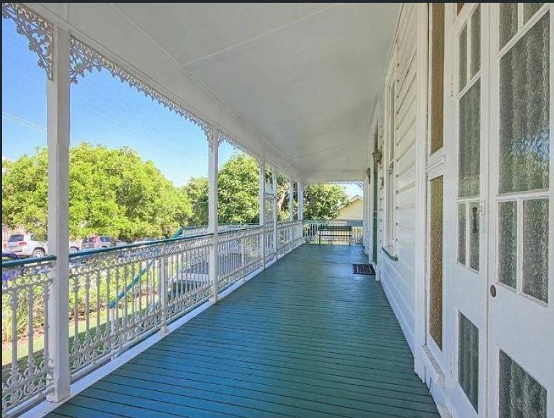 colonial Queenslander verandah