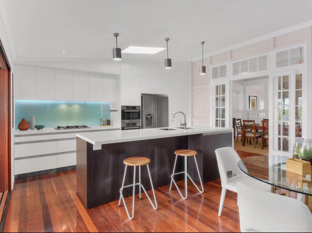 Queenslander Clayfield kitchen