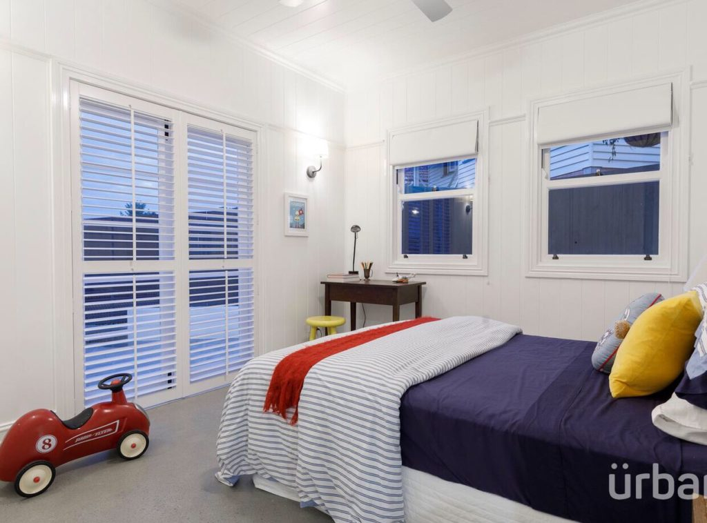 colonial Queenslander Paddington bedroom