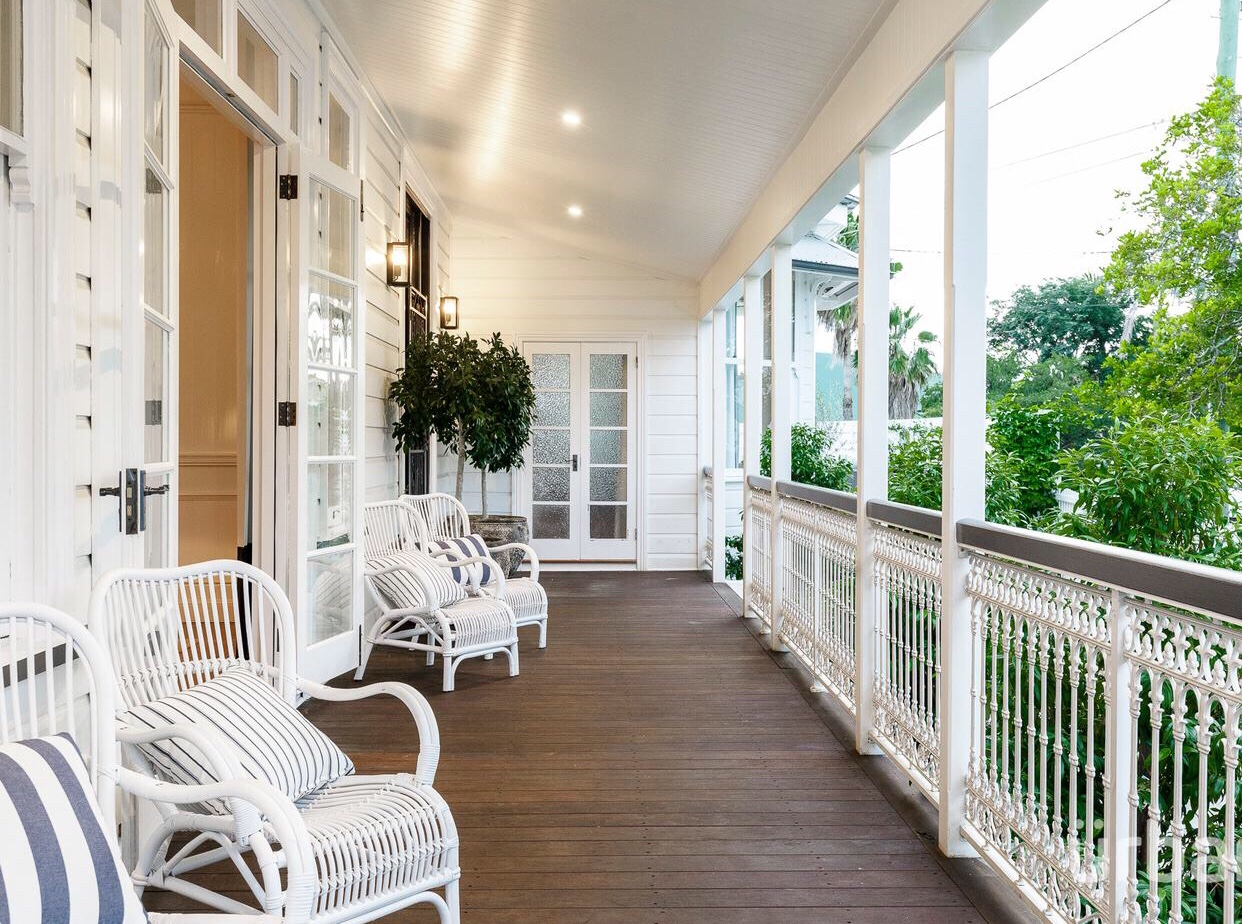 colonial Queenslander Paddington verandah