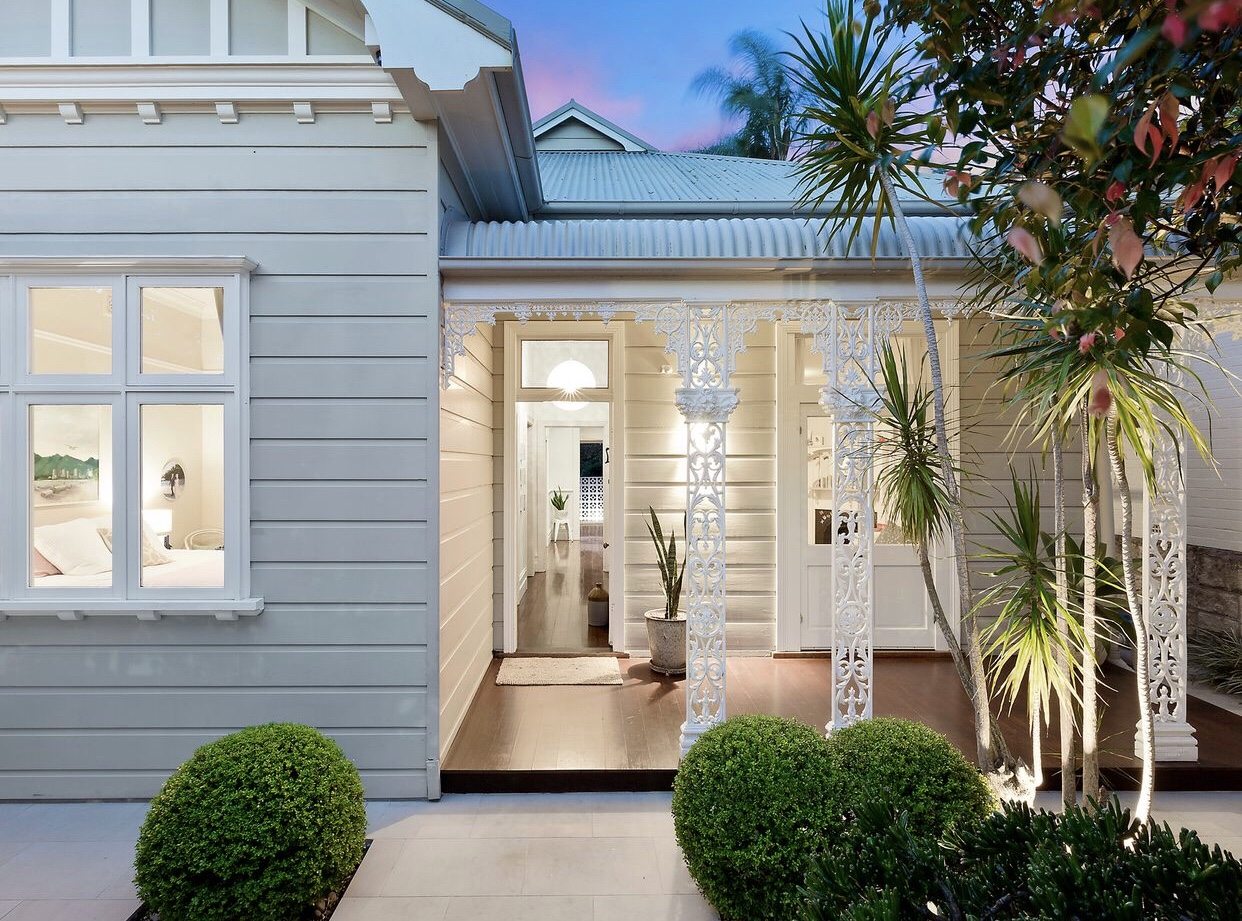 This 1907 heritage weatherboard home is for sale in Fairlight, Sydney