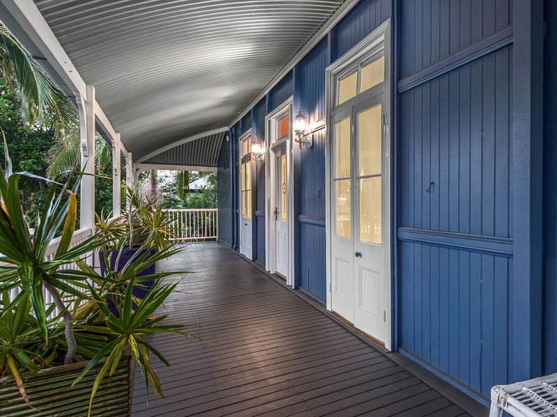 Virginia Queenslander verandah