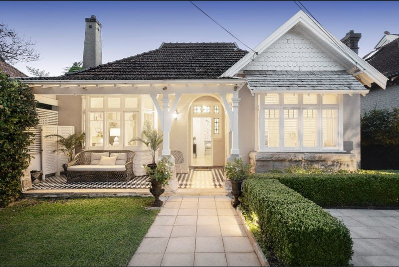 c1910 Federation Cottage in Cremorne is All That